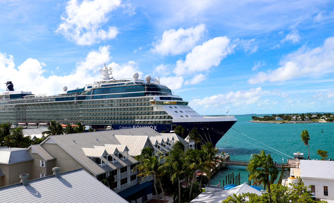 Celebrity Equinox in Key West Florida